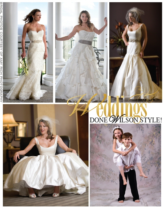 Wilson Living Magazine - Bridal Photos