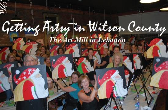Wilson Living Magazine-Getting Artsy