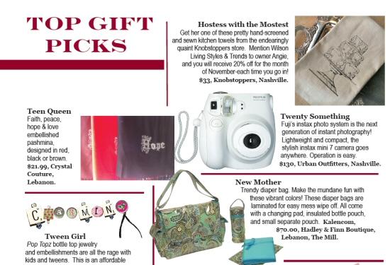WLM - Top Gift Picks