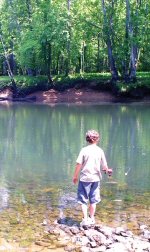 WLM - Fishing on the tailwaters of Center Hill Dam on the Caney Fork River