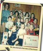 WLM - Ms Edna Bennett's first class at Pixie School