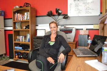 Crystal Kensinger, co-owner of Re:MOVE Training in Mt. Juliet
