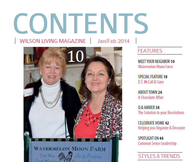 January - February 2014 Edition - Wilson Living Magazine
